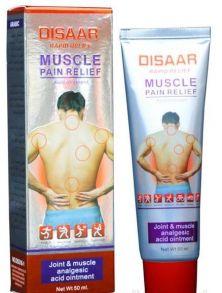 Мазь обезболивающая для тела ТМ Disaar, Muscle Pain Relief, 50 мл