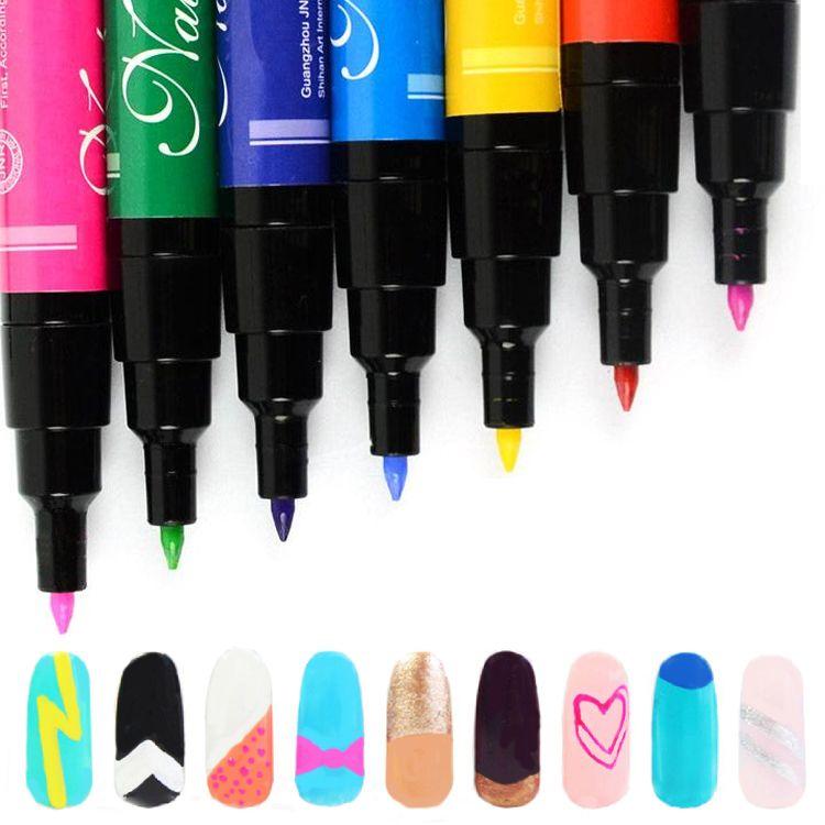 Ручка для рисования на ногтях(цвета различные)
