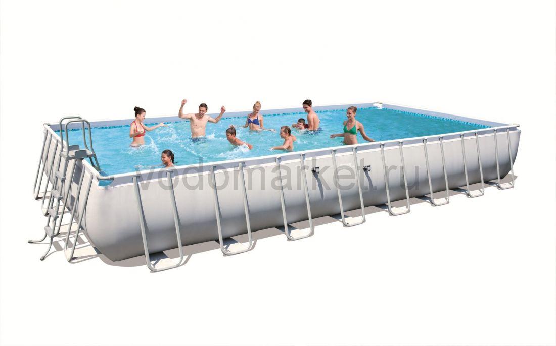 956х488х132 см (56479) Bestway Каркасный прямоугольный бассейн