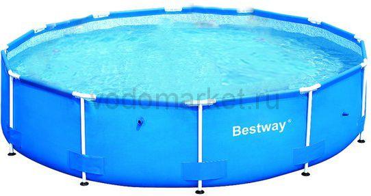 366х76 см (56030) Bestway Каркасный круглый бассейн