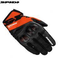 Мотоперчатки Spidi Flash-R Evo, Черно-оранжевые