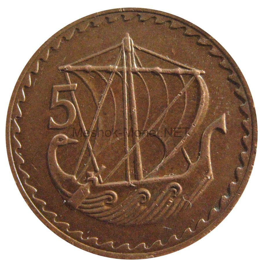 Кипр 5 милс 1978 г.