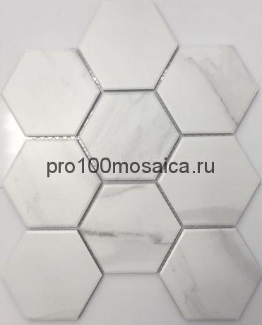 PS95110-13. Мозаика СОТЫ, серия PORCELAIN,  размер, мм: 256*295 (NS Mosaic)