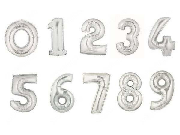 Цифра серебро