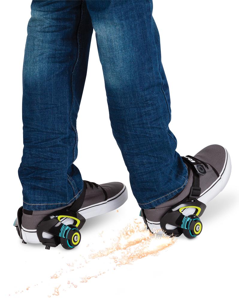 Ролики на обувь Razor Jetts Зелёный купить в москве