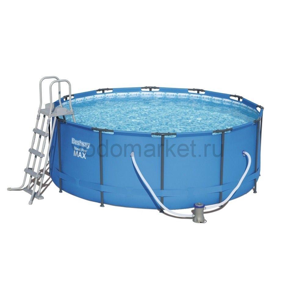 366x122см (56420/56088) Bestway каркасный бассейн
