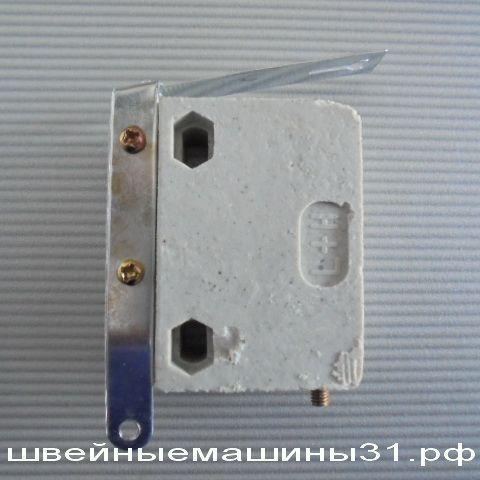Керамический контейнер (пустой) для графитовых шайб с контактной пластиной         цена 250 руб.