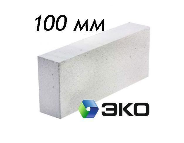 Пеноблок газобетонный 600х250х100 мм