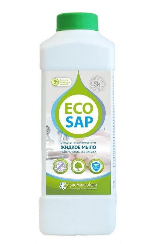 Жидкое мыло нейтральное EcoSap (ЭкоСап) 1000 мл