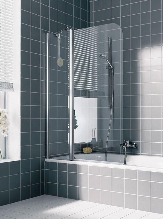 Шторка для ванной Kermi Atea AT DTR/L ФОТО