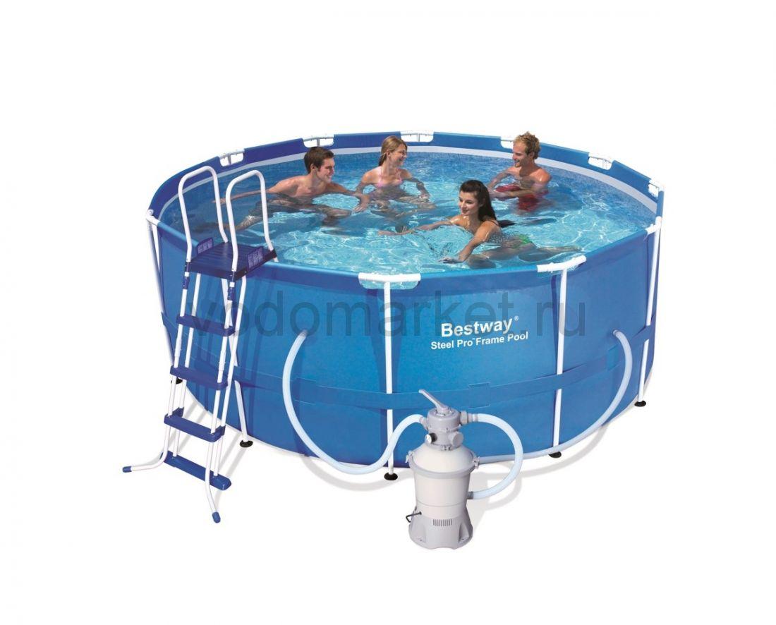366х122 см (56259) Bestway каркасный бассейн