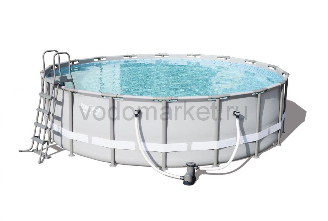 549х132 см (56427) Bestway каркасный бассейн