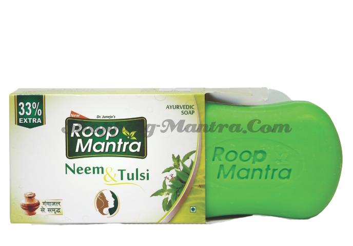 Руп Мантра аюрведическое мыло Ниим Тулси Дивиса| Roop Mantra Neem & Tusli Ayurvedic Soap