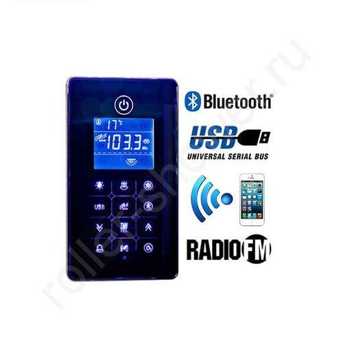 Сенсорный пульт управления душевой кабиной Bluetooth/MP3/USB/touch screen