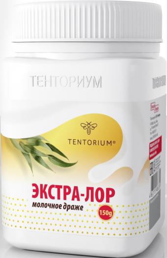 Экстра-Лор молочное драже, 150г
