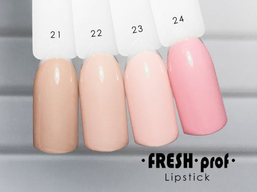 Гель-лак Fresh Prof Lip Stick № 21