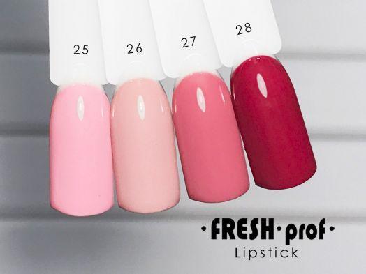 Гель-лак Fresh Prof Lip Stick № 25