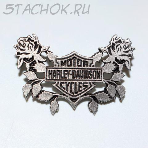 "Брошь ""Harley Davidson Roses"" (США)"