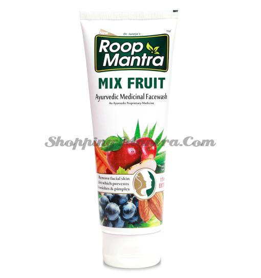 Руп Мантра гель для умывания Фруктовый Дивиса| Roop Mantra Mix Fruit Face Wash