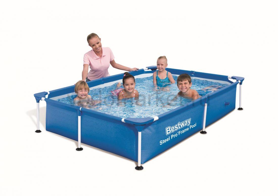 221х150х43см (56401) Bestway каркасный бассейн