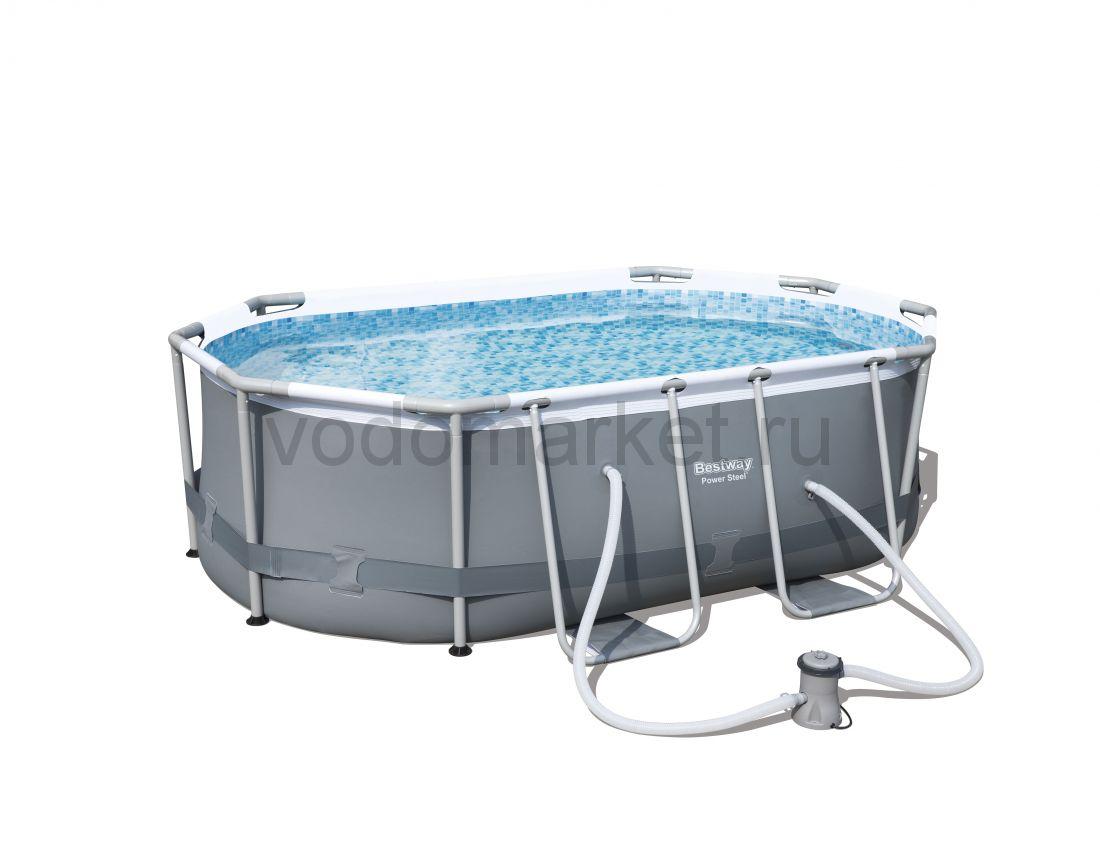 300х200х84см (56617) Bestway каркасный бассейн