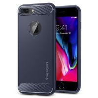 Чехол Spigen Rugged Armor для iPhone 8 Plus синий