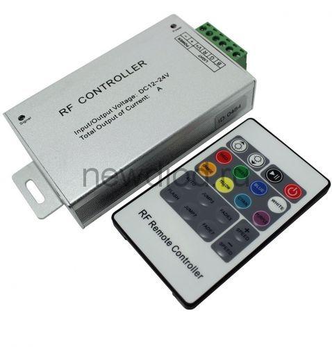 RGB-контроллер RF IR24 12/24V 288/576W 24А OREOL