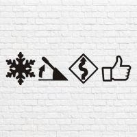 Снег дрифт лайк в векторе
