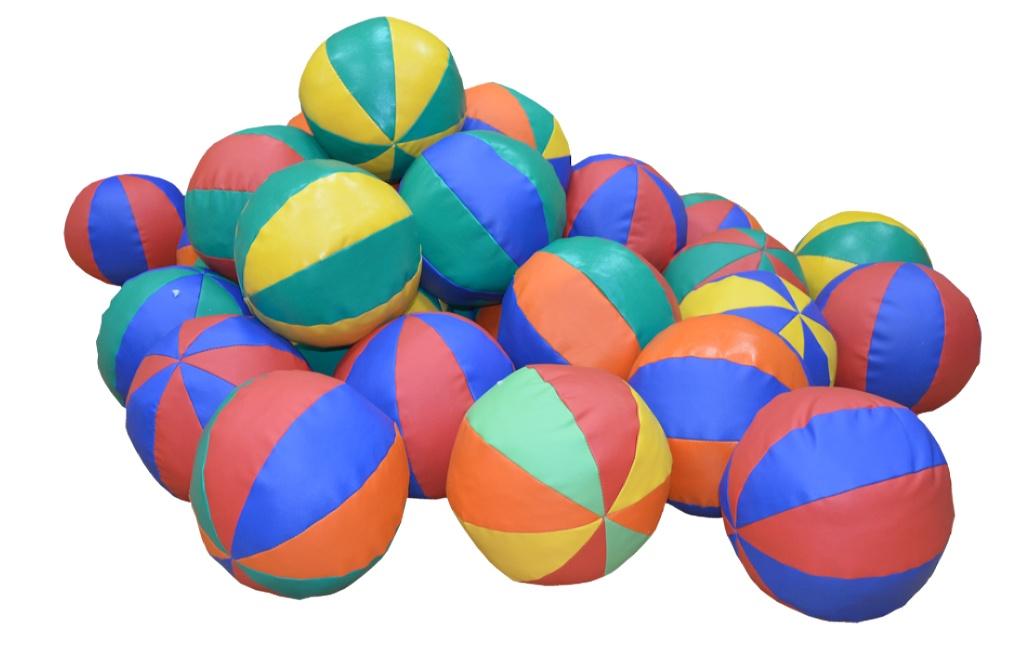 Мяч сенсорный мягконабивной 0,5кг