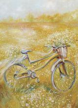 Почтовая открытка Солнечный велосипед