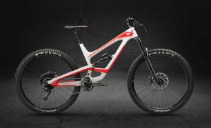YT Capra 29 CF 2018  white/red