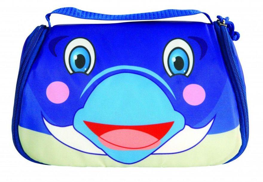 Детская сумка-холодильник для обедов Snack Pets ( Персонаж: Дельфин )