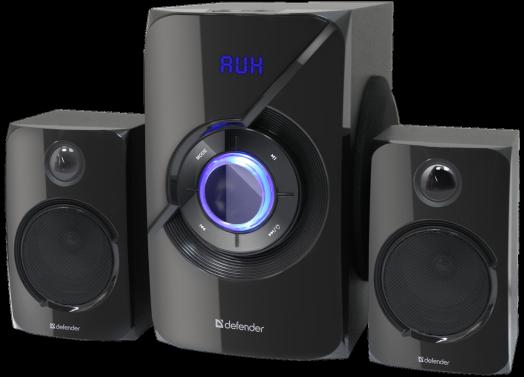 Мультимедийные колонки 2.1 Defender X420 40Вт, Bluetooth FM/MP3/SD/USB