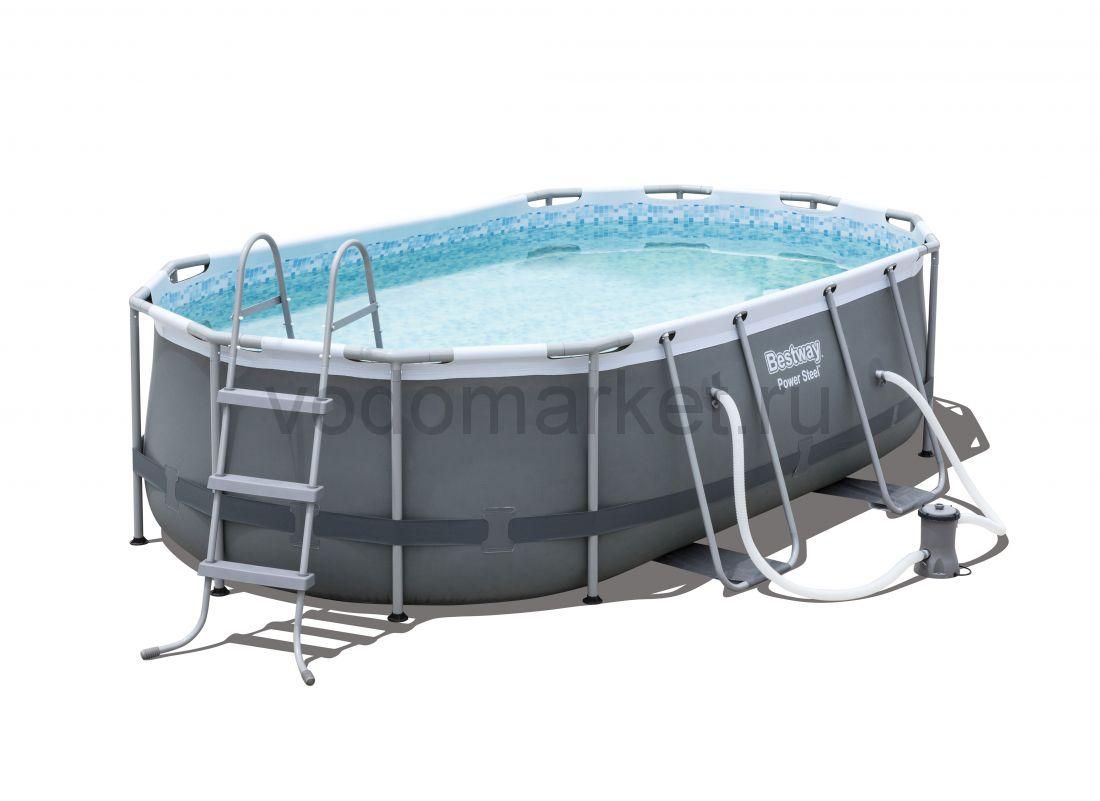 424х250х100см (56620) Bestway каркасный бассейн