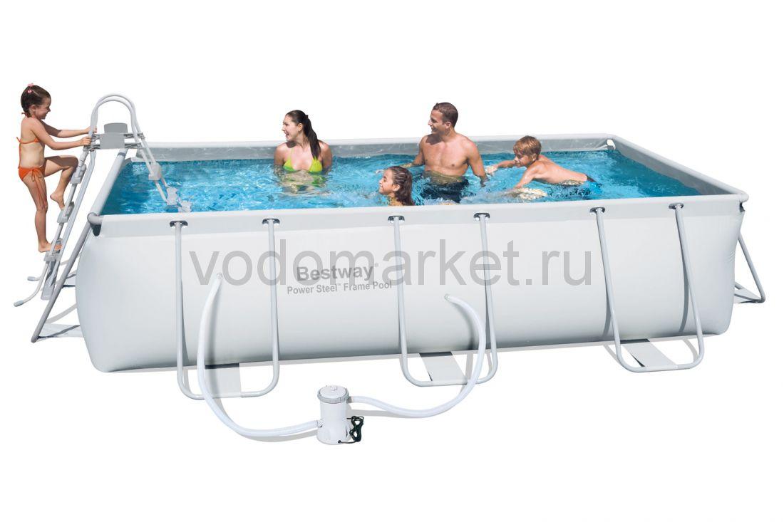 404х201х100см (56252) Bestway каркасный бассейн