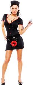 Платье Медсестры черное