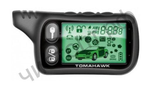 Брелок для сигнализации LCD Tomahawk TZ9010