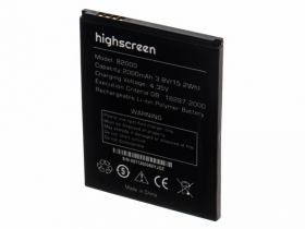 Аккумулятор для Highscreen B2000 Prime