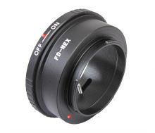 Переходник FD-NEX (Объективы Canon FD на фото камеры Sony NEX)