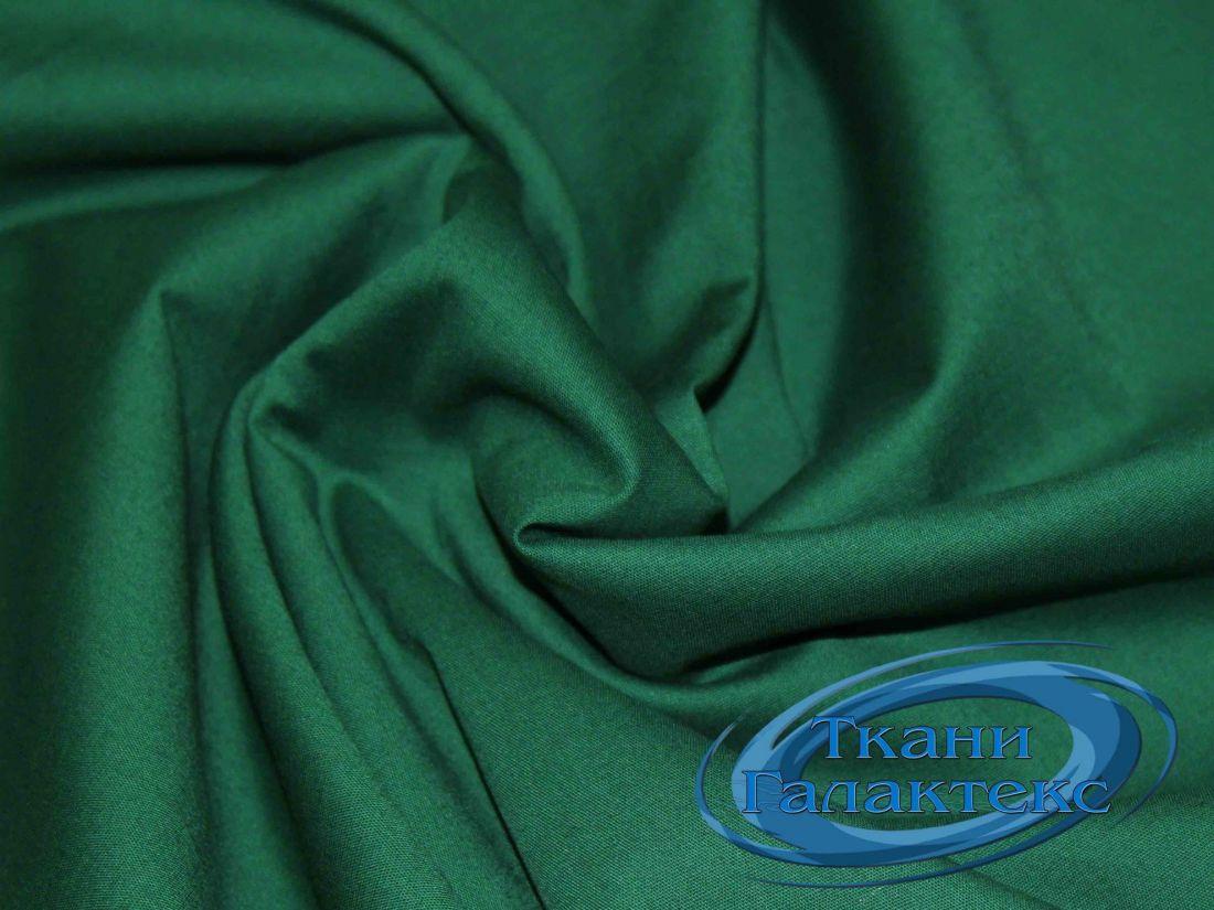 7Хлопок однотонный VT-9725/C#19 зеленый