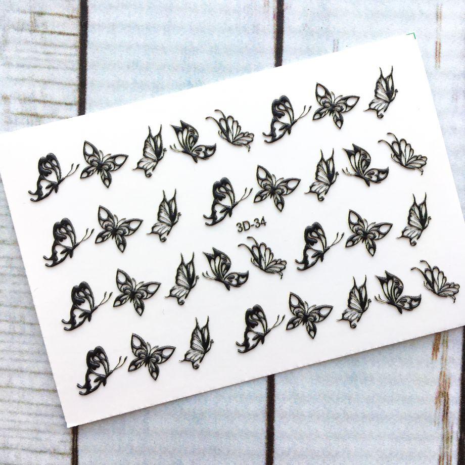 Слайдер-дизайн Anna Tkacheva 3D/34 черные