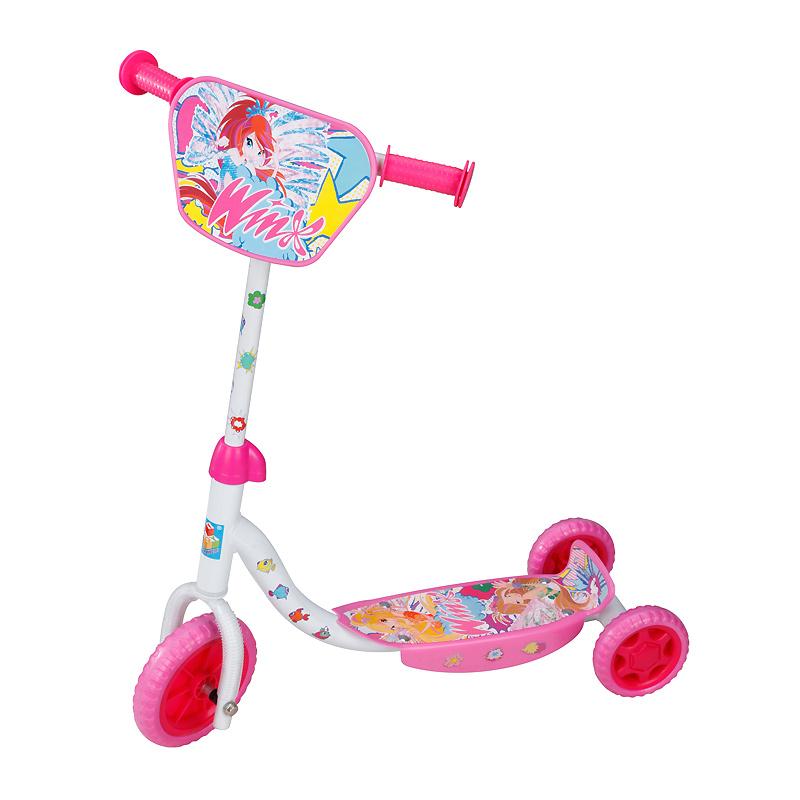Детский трехколесный самокат 1TOY - WINX