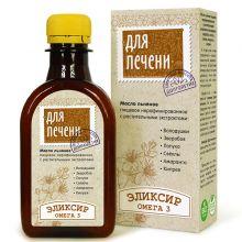 Масло льняное ДЛЯ ПЕЧЕНИ, 200 мл + 1 шт. 200 мл.