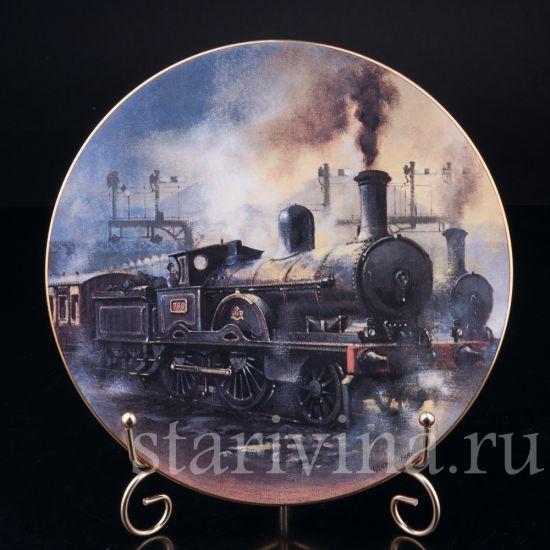 Джумбо на вокзале Юстон, Caverswall, Англия, 1981 г