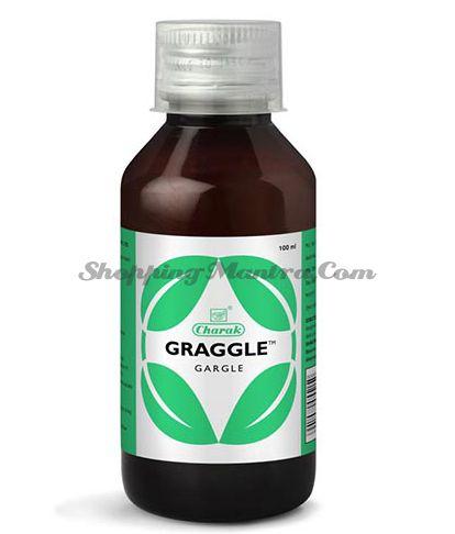 Средство для полоскания горла Граггле Чарак | Charak Graggle Gargle