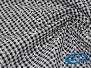 Рубашечная ткань клетка принт VT-9825/D2/C#5
