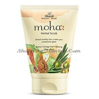 Скраб для лица Моха Чарак | Charak Pharma Moha Herbal Face Scrub