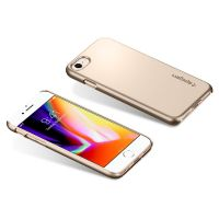 Чехол Spigen Thin Fit для iPhone 8 золотой