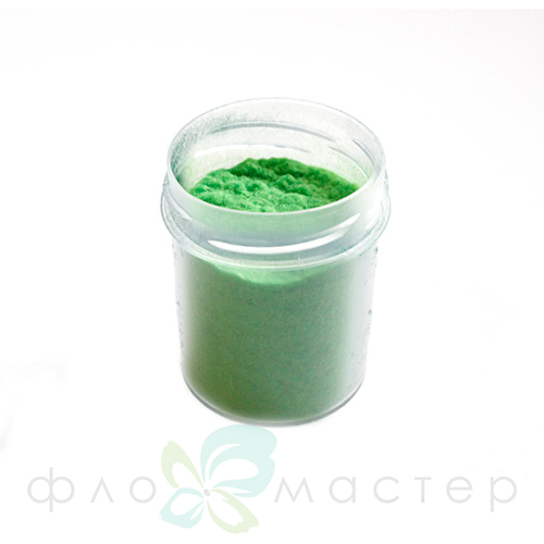 Пыльца бархатная (флок) 40 мл. Зеленый