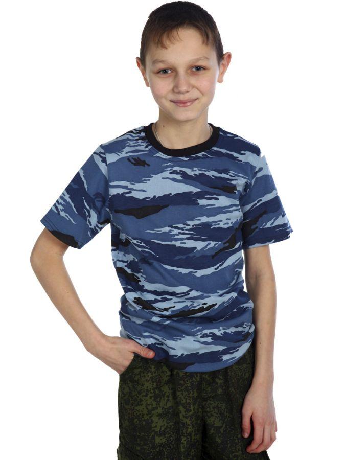 Синий камыш футболка детская
